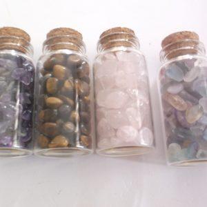 Gemstone bottles